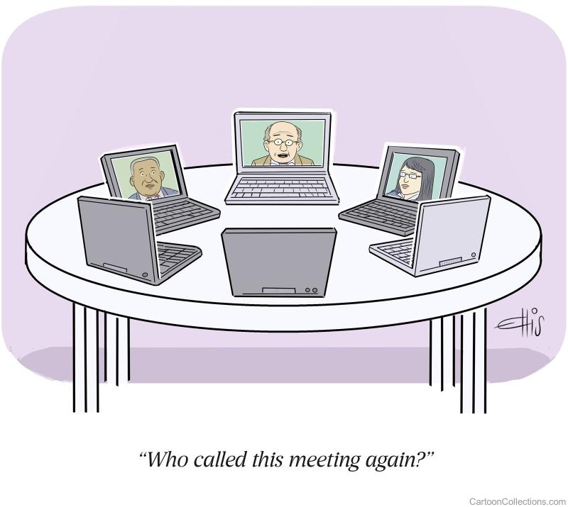 Who call this meeting Again